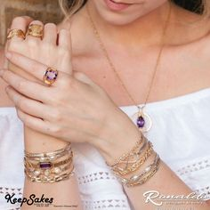 Unlimited combinations you can make with your Ronaldo Designer Jewelry! #Bracelet #Ronaldo @keepsakesJewelry