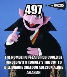 Sheldon Adelson & Mitt Ronney 497 PBS years