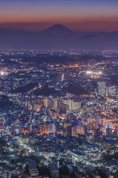 Yokohama night, Kanagawa, Japan