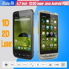 High speed 4 7 Inch Industrial Smartphone Bluetooth 1D 2D laser Wireless Handheld font b Android