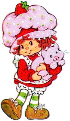 Strawberry Shortcake!  I had everything there was.   LOVE EM!!