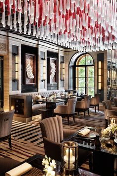 Four Seasons Hotel Lion Palace, St Petersburg designed by studio SPIN