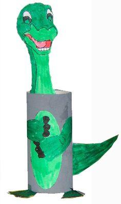 Faire un bricolage de dinosaure