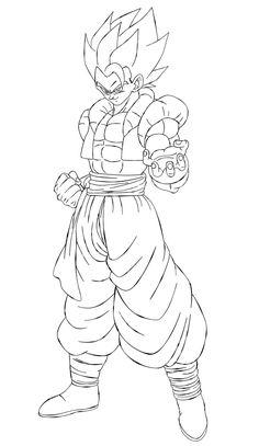 Super Saiyan Gohan (Kaioshin Outfit) [Line-Art] by AubreiPrince on DeviantArt Dbz Drawings, Dragon Sketch, Arte Horror, Dragon Ball Gt, Anime Lock Screen Wallpapers, Naruto Sketch, Ball Drawing, Fusion Art, Line Art