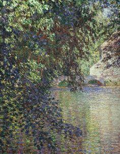 Watermill at Limetz, 1888, Claude Monet