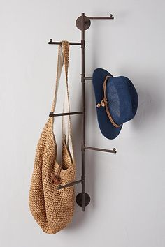 Swivel Hanging Rack ... for purse, hats & toe bags