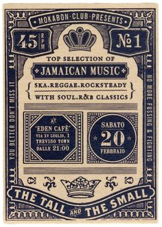 Go to http://newmusic.mynewsportal.net to learn about the latest music releases - vintage reggae flyer