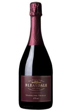 Bleasdale Sparkling Shiraz NV Langhorne Creek 375mL - 12 Bottles Sparkling Shiraz, Sparkling Wine, Wine Label Design, Roasted Meat, Wine Packaging, Christmas Pudding, Types Of Soil, Red Wine, Bottles