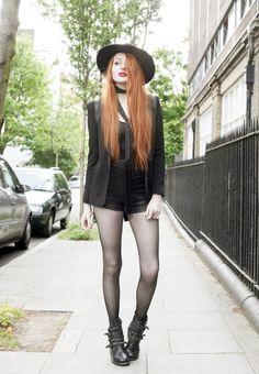 Olivia Emily - UK Fashion Blog.: Roller Biker.