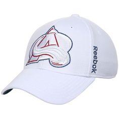 Colorado Avalanche Reebok Center Ice Second Season Flex Hat - White