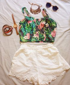Summer outfit! #summer #outfit #chic