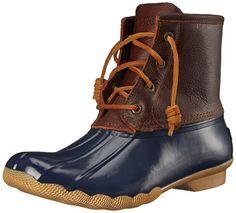 Amazon.com: Sperry Top-Sider Women's Saltwater Rain Boot: Shoes