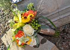 Country style wedding in Blaine by Country Bouquets Floral.