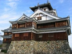 Fukuchiyama Castle in Kyoto Prefecture
