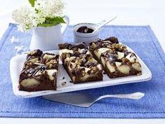 Das Rezept für Brownie-Apfelkuchen und weitere kostenlose Rezepte auf LECKER.de