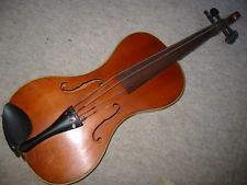 old, odd & unusual (!!) German Violin violon!