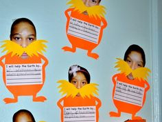 As part of Read Across America Week, Bloomfield schoolchildren celebrated the whimsical authors birthday with imaginative projects