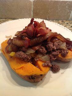 Stuffed Baked Sweet Potatoes - Fit Paleo Mom