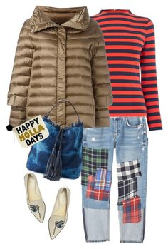 """Happy Holla Days!!"" by musicfriend1 on Polyvore featuring MANGO, Warehouse, Hetregó, Rebecca Minkoff, Nicholas Kirkwood and Twig & Arrow"