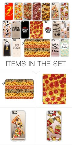 """""""INVITING FRIENDS FOR PIZZA NIGHT"""" by stylev ❤ liked on Polyvore featuring art"""