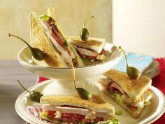 Sandwich mit Hähnchen #goldentoast