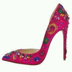 zapatillas fushia