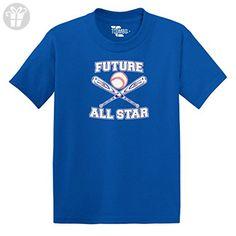 Future All Star Baseball TODDLER Little Boy / INFANT T-shirt (3T, ROYAL BLUE) - Eat sleep repeat t shirts (*Amazon Partner-Link)