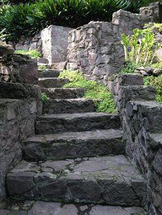 garden paths in Mexico