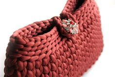 Elegant Handbag Crocheted Clutch Clutches Evening by LiveFashion