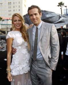 """""""Green Lantern"""" Ryan Reynolds and """"Gossip Girl"""" Blake Lively Blake Lively Ryan Reynolds, Blake And Ryan, Hot Couples, Famous Couples, Celebrity Couples, Celebrity Photos, Celebrity Style, Cutest Couples, Power Couples"""