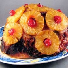 HAWAIIAN STYLE PINEAPPLE-GUAVA GLAZED HAM