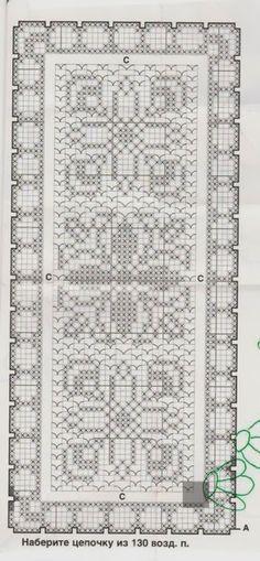Crochet: ANTIQUE DOILY PATTERN