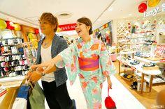 Yukata rental and makeover at JOINUS department store in Yokohama, Japan! #japankuru #JOINUS #yokohama #yukata #shopping #ショッピング #ジョイナス #横浜 #横浜駅 #浴衣 #買い物