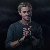 El actor australiano Chris Hemsworth ha colaborado con Joel Rea en una sesión de fotos y un retrato