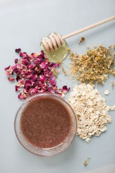 Gentle DIY Rose Camomile Face Scrub To Try | Styleoholic