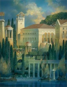 Gil Gorski recreates ancient buildings in his fine-art paintings. Learn now to paint urban landscapes and buildings with these free tips from Artist Daily.