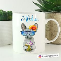 A proper coffee mug gift for any coworker that always dreams of holidays 😸 Mug Designs, Ceramic Art, Mason Jars, Coffee Mugs, Cups, Enamel, Dreams, Holidays, Ceramics