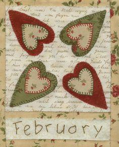 CountryQuilt: Ellie's Quiltplace Country Calendar Quilt BOM