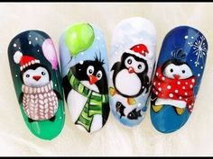 Nageldesign Winter The trendy patterns for the winter - Hair Beauty - Food and Drink - Christmas - DIY and Crafts - Home Decor Nail Noel, Xmas Nails, Winter Nail Art, Christmas Nail Art, Holiday Nails, Winter Nails, Nail Art Designs, Winter Nail Designs, Christmas Nail Designs