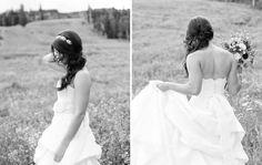 coiffure mariage cheveux longs: tresse bohème asymétrique