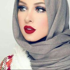 How to wear fur vest with hijab