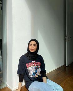 Modern Hijab Fashion, Street Hijab Fashion, Hijab Fashion Inspiration, Muslim Fashion, Modest Outfits, Chic Outfits, Fashion Outfits, Head Scarf Styles, Mode Hijab