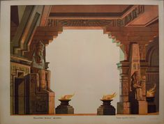 Schreiber -Egyptian Temple front