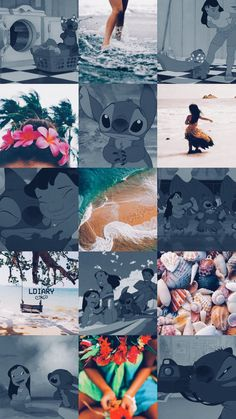 Lilo aesthetic Blue Wallpaper Iphone, Trippy Wallpaper, Disney Phone Wallpaper, Cartoon Wallpaper Iphone, Iphone Wallpaper Tumblr Aesthetic, Cute Cartoon Wallpapers, Disney Collage, Disney Artwork, Mode Poster