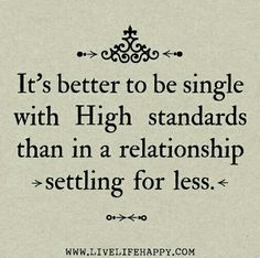 My high standards and holding out paid off in spades! :-D #love