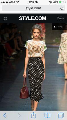 Dolce Gabbana RTW Spring 2014