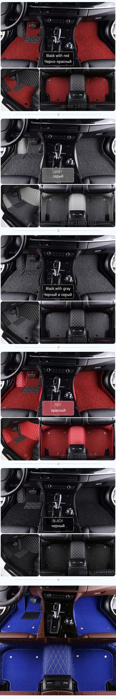Custom car floor mats for Volkswagen All Models vw passat b5 6 polo golf tiguan jetta touran touareg car styling floor mat