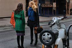 Gossip Girl Season 5. Blair Waldorf, Serena van der Woodsen.