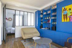 Superbe appartement meublé de 52 m2, situé Cité de la Mairie quartier Montmartre, dans le 18ème arrondissement de Paris. Ref 13491