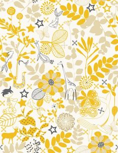 Yellow Flower Wallpaper Designs Images Decoration Ideas Flowered Choice Image